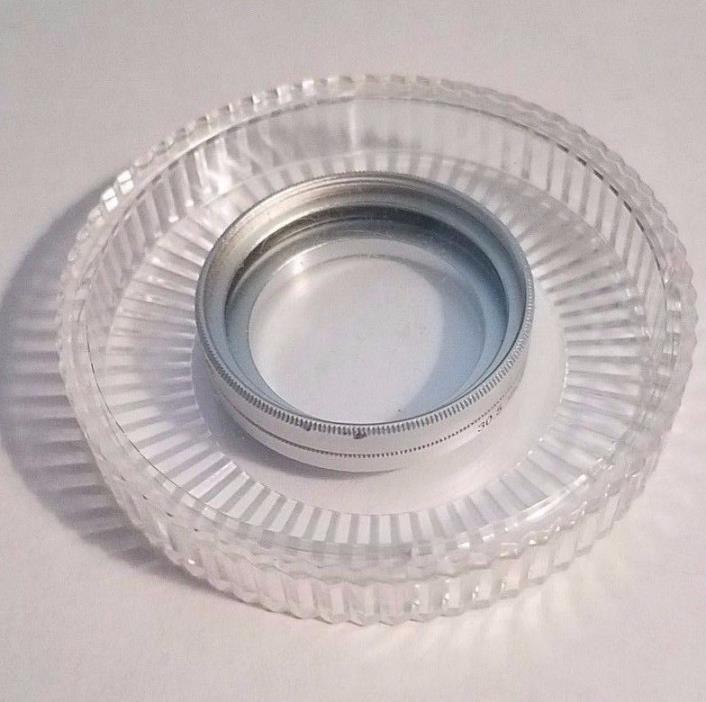Cokin 37mm Ultra Violet UV Digital Glass Lens Filter & 37-30.5mm Adapter & Case