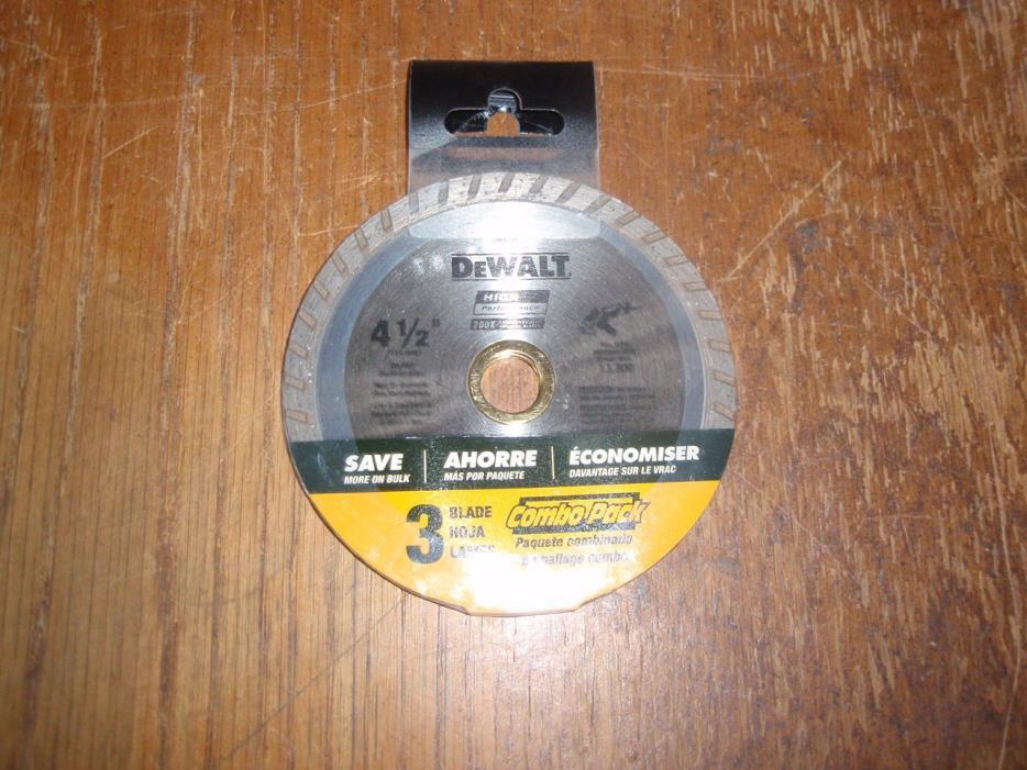 3-DEWALT DW4725 HP 4-1/2