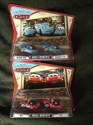 Disney Pixar Cars Mia Tia Dinoco sets