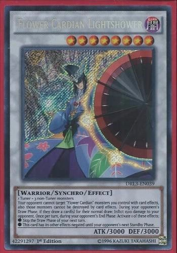 Yugioh card Flower Cardian Lightshower