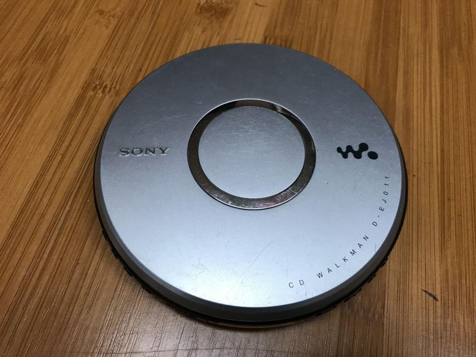 Sony Walkman D-EJ011 Portable CD Disc Player Mega Bass G-Protection