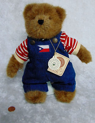 NEW Boyds Bears Best Dressed Teddy Bear HUCK 11