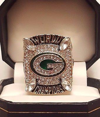 2010 Green Bay Packers Super Bowl XLV Championship Ring
