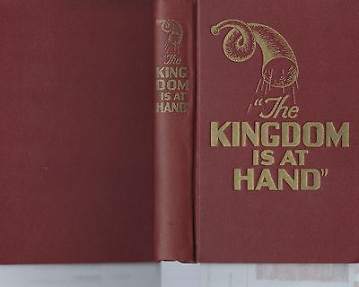 The Kingdom is at Hand Book (1944) Watchtower