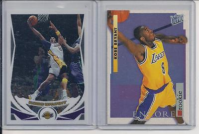 Kobe Bryant Fleer Ultra Rookie #266 and Topps Chrome #8 plus BONUS!