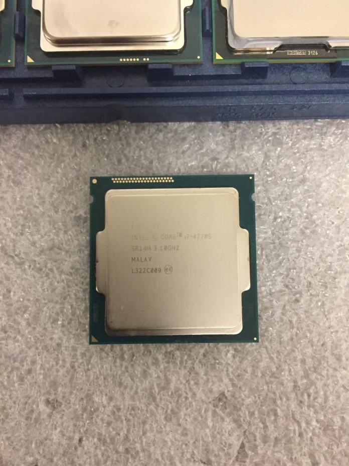 Intel Processor Core i7-4770S 3.1GHz, 8MB Cache 5 GT/s LGA1150 SR14H