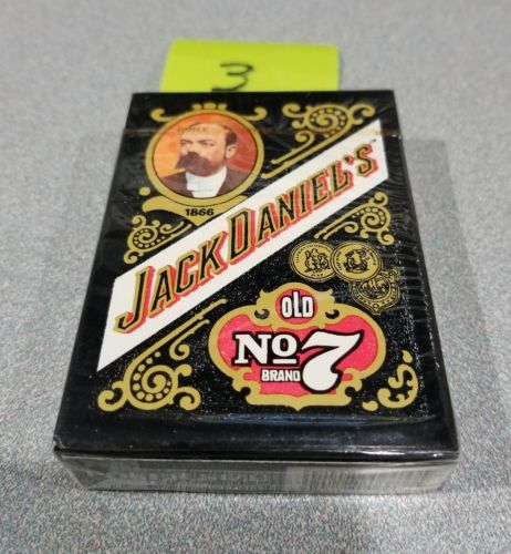 NIB Jack Daniels Old No 7 Playing Cards