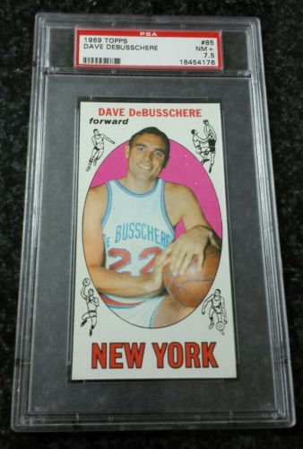 1969-70 Topps #85 Dave DeBusschere Rookie PSA 7.5 NM+