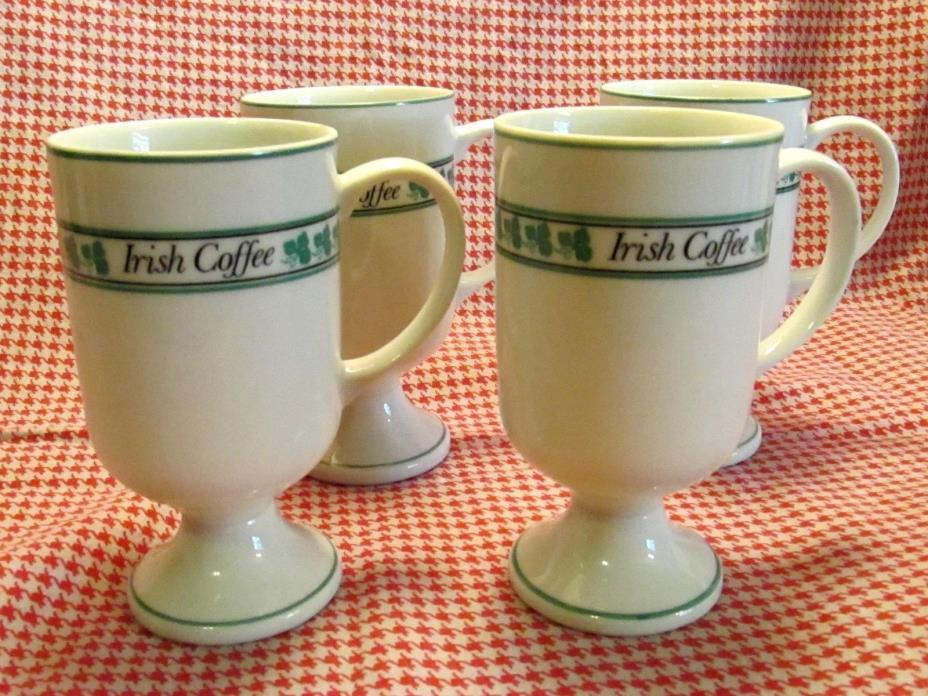 VINTAGE IRISH COFFEE CUPS