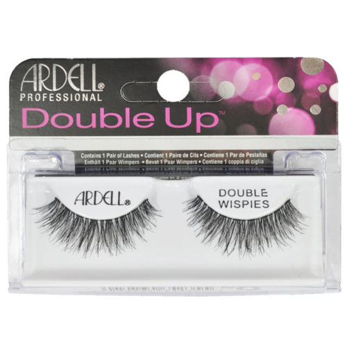 Ardell Professional Double Up, Double Wispies Lashes: Black