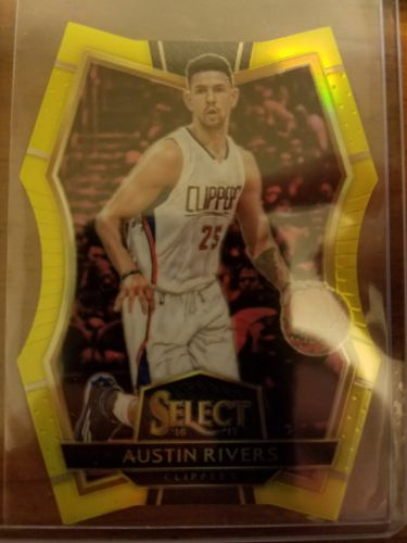 2016-17 Select Austin Rivers #150 Gold Die cut /75 *Clippers