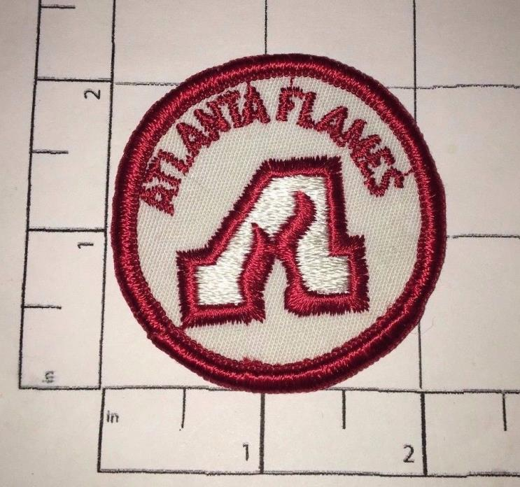 Atlanta Flames Patch - vintage