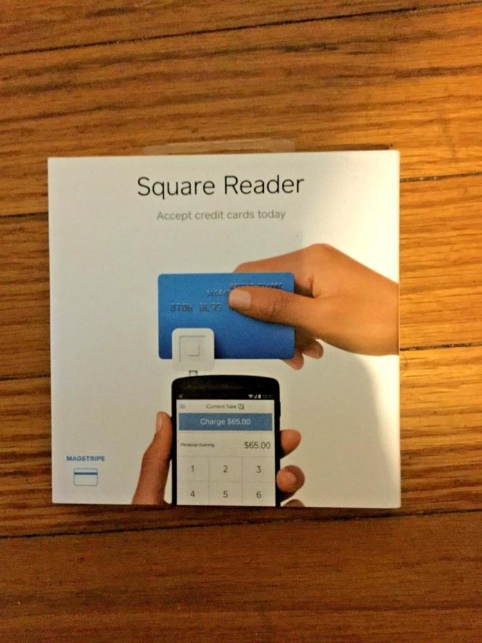 Square Credit Card Reader New Use with Smart Phone Swipe