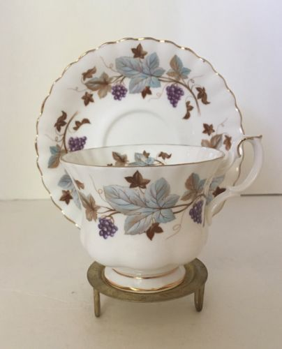 Royal Albert Lorraine Teacup And Saucer