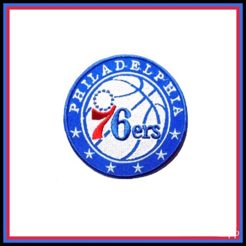 Philadelphia 76ers Embroidered Iron On Patch 2.75
