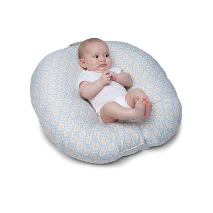 New Boppy Newborn Lounger Geo Original Nursing Pillow Cushion Portable