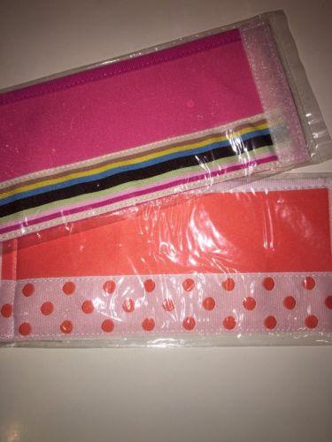 NWT Set/2 Drink Holder/Coozie Strip To Strip Closure Pink & Orange