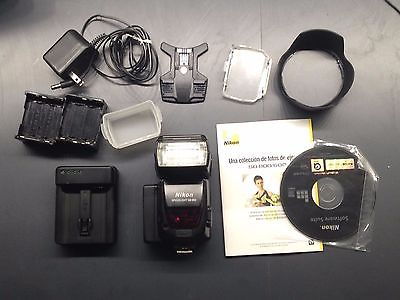 Nikon Speedlight SB-800 Shoe Mount Flash, lots of other stuff and ENEL4 charger!