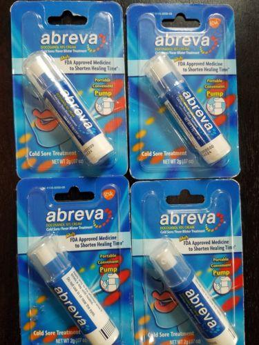 Abreva Cream (Pack of 4)