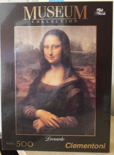 Lourve Museum Collection 500pc Puzzle Leonardo