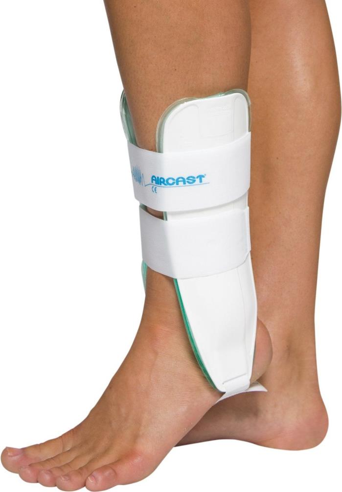 Aircast Air-Stirrup Ankle Support Brace, Left Foot, XS