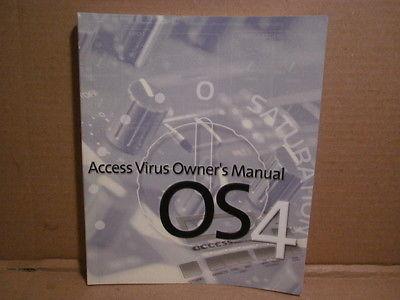 Access Virus OS4 - Owner's Manual - c. 2000