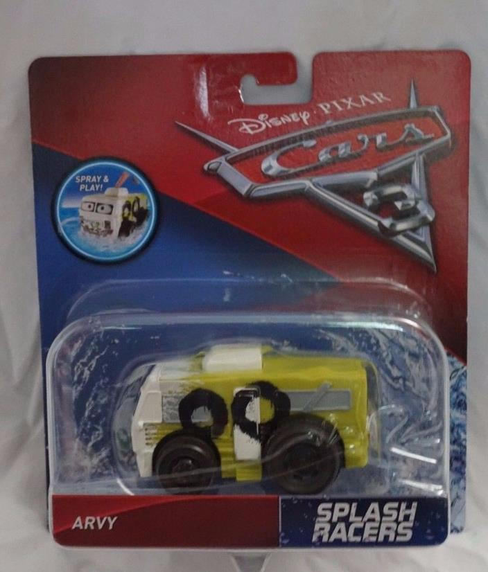 Disney Pixar Cars 3 Splash Racers Arvy NEW Mattel 2017 Ships In Box