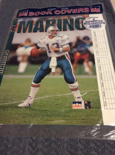Dan Marino Dolphin Super Starline Book Cover 1993 NFL Football Back to School