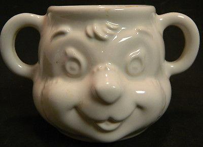 Vintage Pfaltzgraph Children's Two Handled Teddy Bear Mug 3