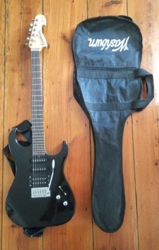 Washburn X Series 6 String Electric Guitar w/ whammy bar and gig bag