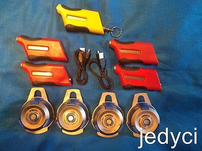 4 Exaktime Jobclock TVS001 ~ FastTrakker Pro 302 w/USB Cable ~ 4 FastTrakker 301