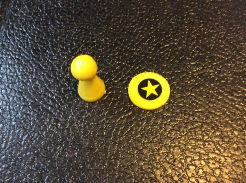 The Trumpet Game Replacement Parts Mover And Token Yellow