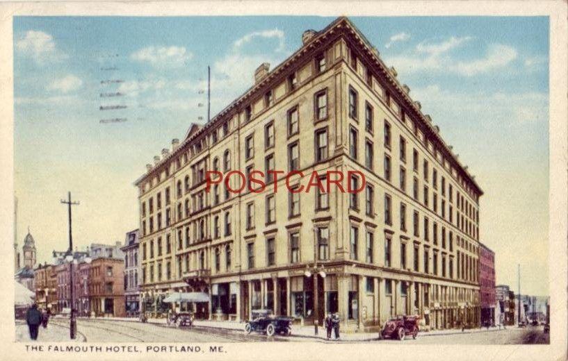 1920 THE FALMOUTH HOTEL, PORTLAND, ME.