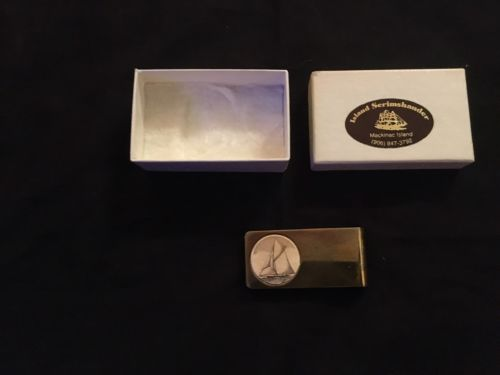 Island Scrimshander Mackinac Island Money Clip