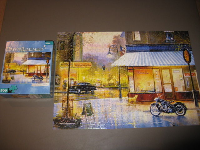 "PUZZLE ""DAYS TO REMEMBER"" 500 PC"