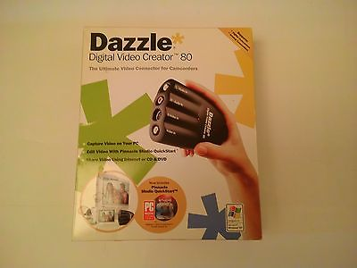 Dazzle Digital Video Creator 80 with Software