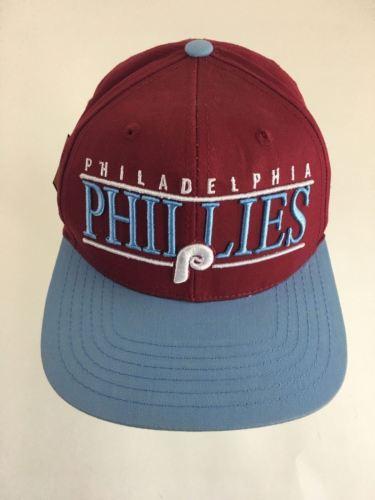 Cooperstown American Needle PHILLADELPHIA PHILLIES Snap Back Cap Hat