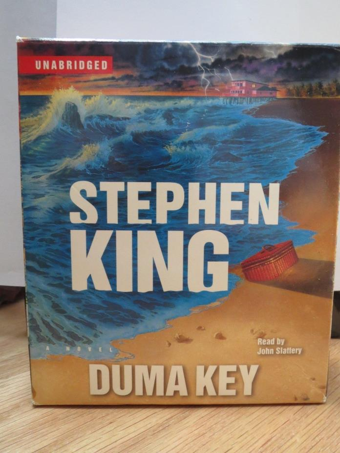 Duma Key by Stephen King (2008, CD, Unabridged) CD audio book horror