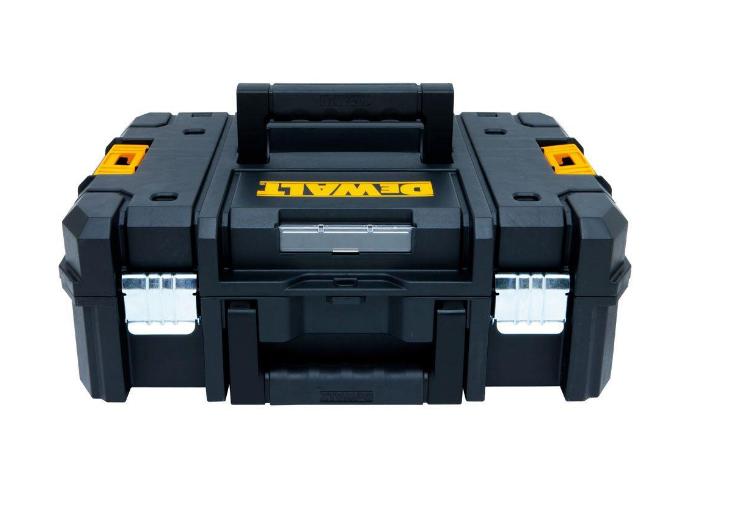 DEWALT Toolbox Organizer Flat Top Case Tool Box Storage Chest Portable Garage