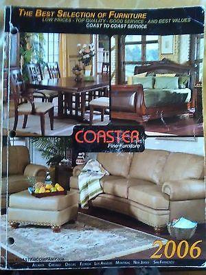 Coaster fine furniture 2006 catalog