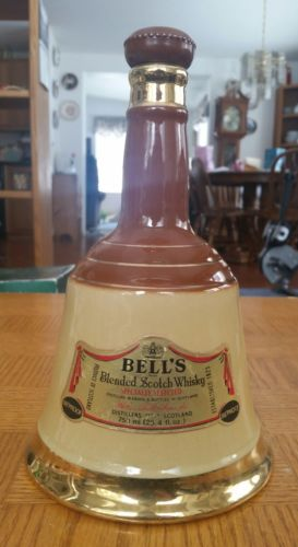 Bell's Scotch Whiskey decanter