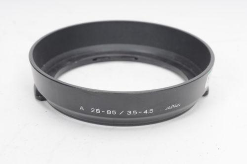 Minolta Hood Shade for 28-85mm f3.5-4.5 AF Lens                             #218