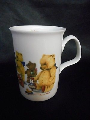 Roy Kirkham England 1993 Teddy Bears Playing With Toys China Mug 4