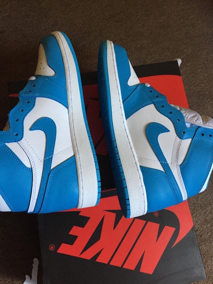 Jordan retro 1 high og unc powder blue size 7