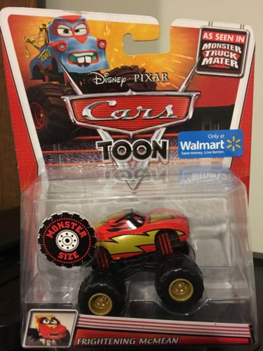 Disney Cars Toon Monster Truck Mater Frightening McMean