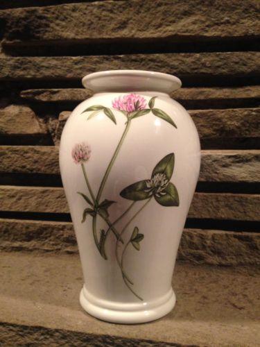 Portmeirion Queen's Hidden Garden Thistle Vase David Bellamy England