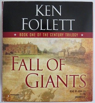 The Century Trilogy: Fall of Giants Prt. 1 by Ken Follett (2010, CD, Unabridged)