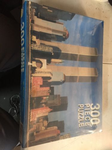 Downtown Manhattan 300 Piece Vintage Puzzle, Orbet Games, 12by 8