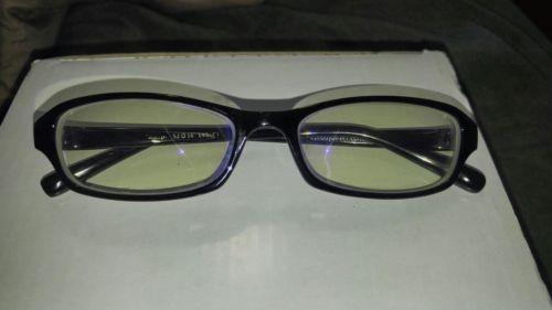 xsmall black fram glasses