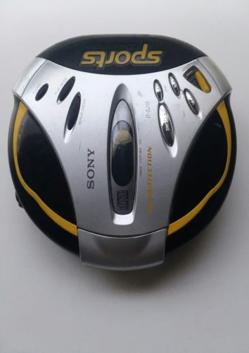 SONY Sports Walkman D-SJ15 G-Protection AVLS Portable CD Player w/ Strap